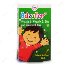 قطره خوراکی آدزوفر Adzofer بی اس کی 30ml