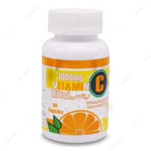 کپسول ویتامین ث 1000 پرتقالی ریتسی 60 عددی