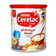 سرلاک حریره بادام به همراه شیر Almond With Milk نستله 400g