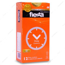 کاندوم تاخیری Delay fiesta فیستا 12 عددی