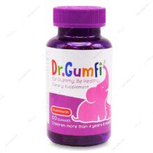پاستیل مولتی ویتامین دکتر گامفی Dr.Gumfi زیست تخمیر 60 عددی