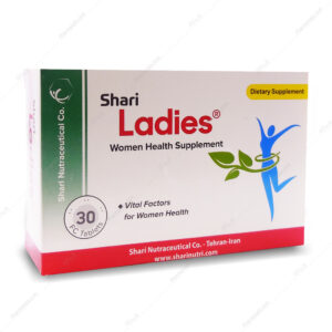 قرص مکمل تقویتی بانوان لیدیز Ladies شاری 30 عددی