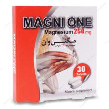 قرص مگنی وان MAGNI ONE سیمرغ دارو 30 عددی