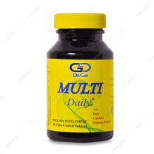 قرص مولتی دیلی Multi Daily دکتر گیل 60 عددی