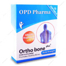 سافت ژل اورتو بن پلاس Ortho Bone Plus او پی دی فارما 30 عددی