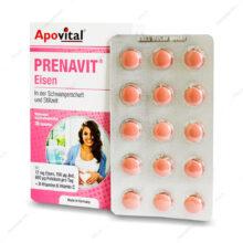 قرص پریناویت آیزن PERNAVIT Eisen آپوویتال 30 عددی