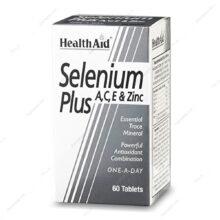 قرص سلنیوم پلاس Selenium Plus هلث اید 60 عددی