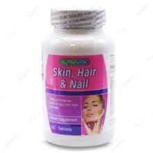 قرص اسکین، هیر، نیل Skin Hair Nail نوتری ویتا 60 عددی