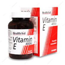 کپسول ویتامین ایی 400 واحدی Vitamin E 400IU هلث اید 60 عددی