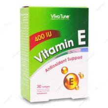 کپسول ویتامین ایی 400 واحدی ویوا تیون 3۰ عددی