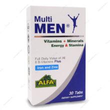 قرص مولتی من Multi MEN آلفا ویتامینز 30 عددی