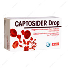 قطره خوراکی آهن CAPTOSIDER کپتوسیدر 30ml