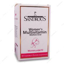 کپسول مولتی ویتامین بانوان زیر 50 سال سندروس 60 عددی