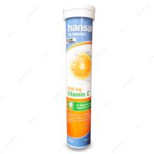 قرص جوشان ویتامین ث 1000 Vitamin C هانسال 20 عددی