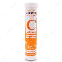 قرص جوشان ویتامین ث Centrovit 500 سنتروویت 20 عددی