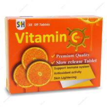 قرص ویتامین ث 500 Vitamin C اس اچ 48 عددی