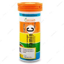 قرص جوشان ویتامین ث Vitamin C 1000 هلثی مین 10 عددی