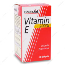 کپسول ویتامین ایی 200 Vitamin E هلث اید