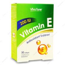 کپسول ویتامین ایی 200 واحدی ویوا تیون 3۰ عددی