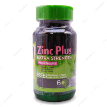 قرص زینک پلاس Zinc Plus بایو فرمولا 30 عددی